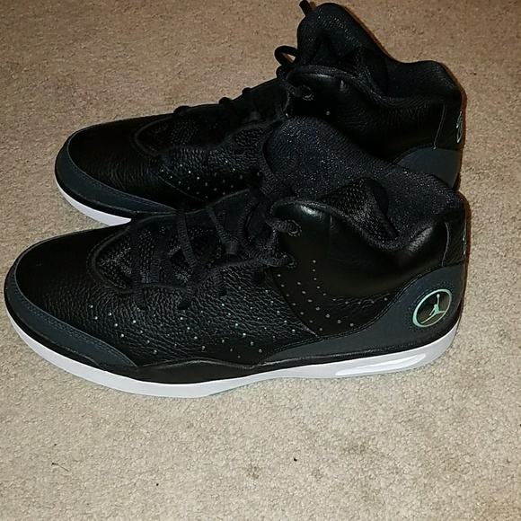 9deb0e8565b307 Nike Air Jordan Flight Tradition Black Turquoi